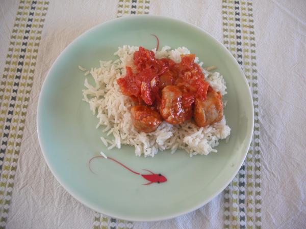 La recette du rougail saucisse