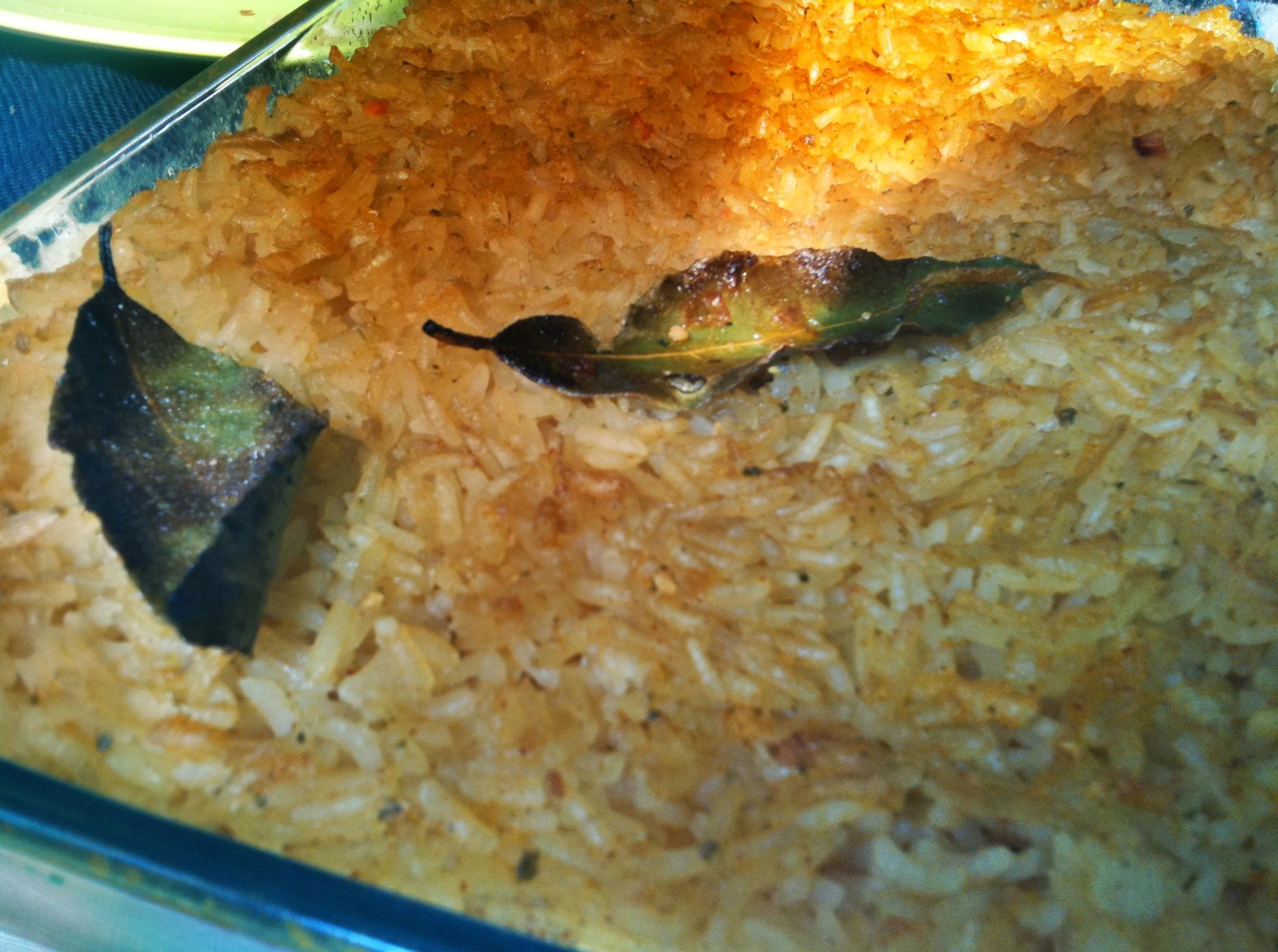 riz au four portugais
