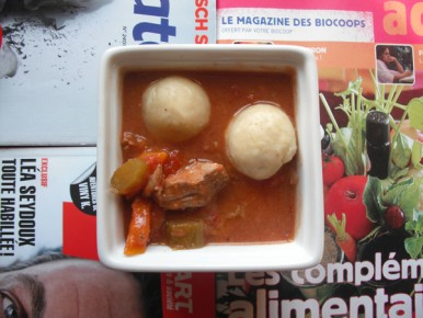 ragoût de porc à la tomate et au cidre