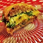 burger poisson courge butternut roquette fromage frais