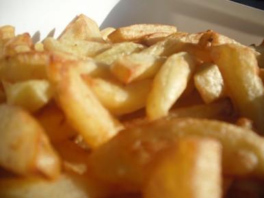 frites parfaites à la friteuse