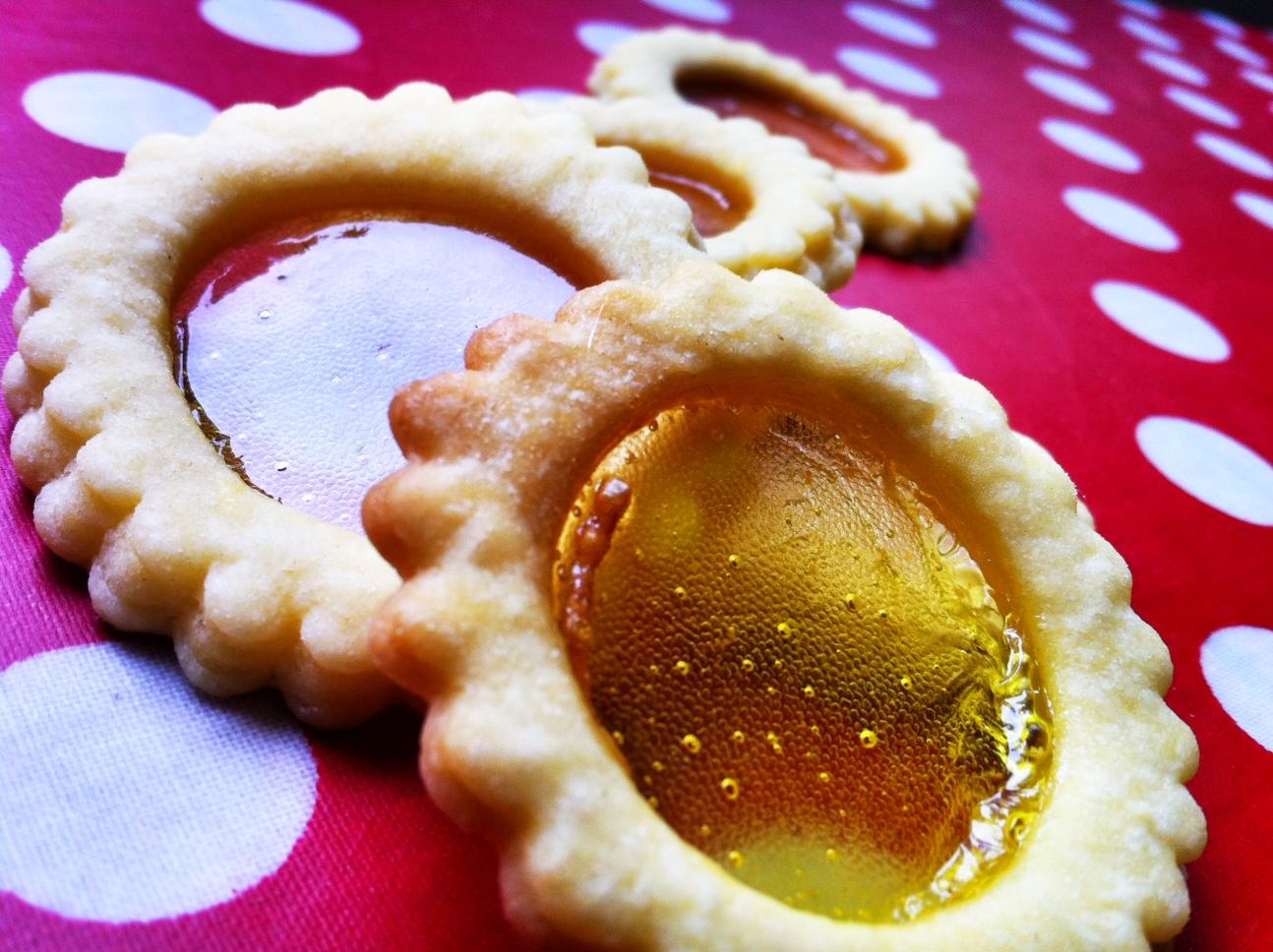 pâte sablée bonbons concassés