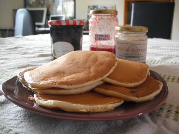pancakes brunc lait ribot