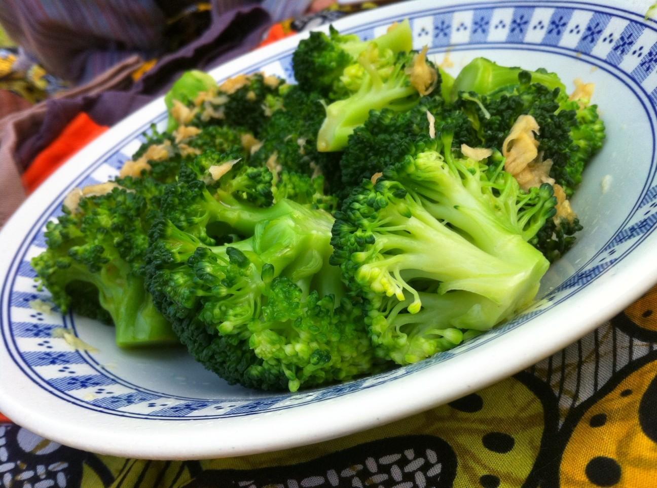 brocolis à l'asiatique de Jamie Oliver