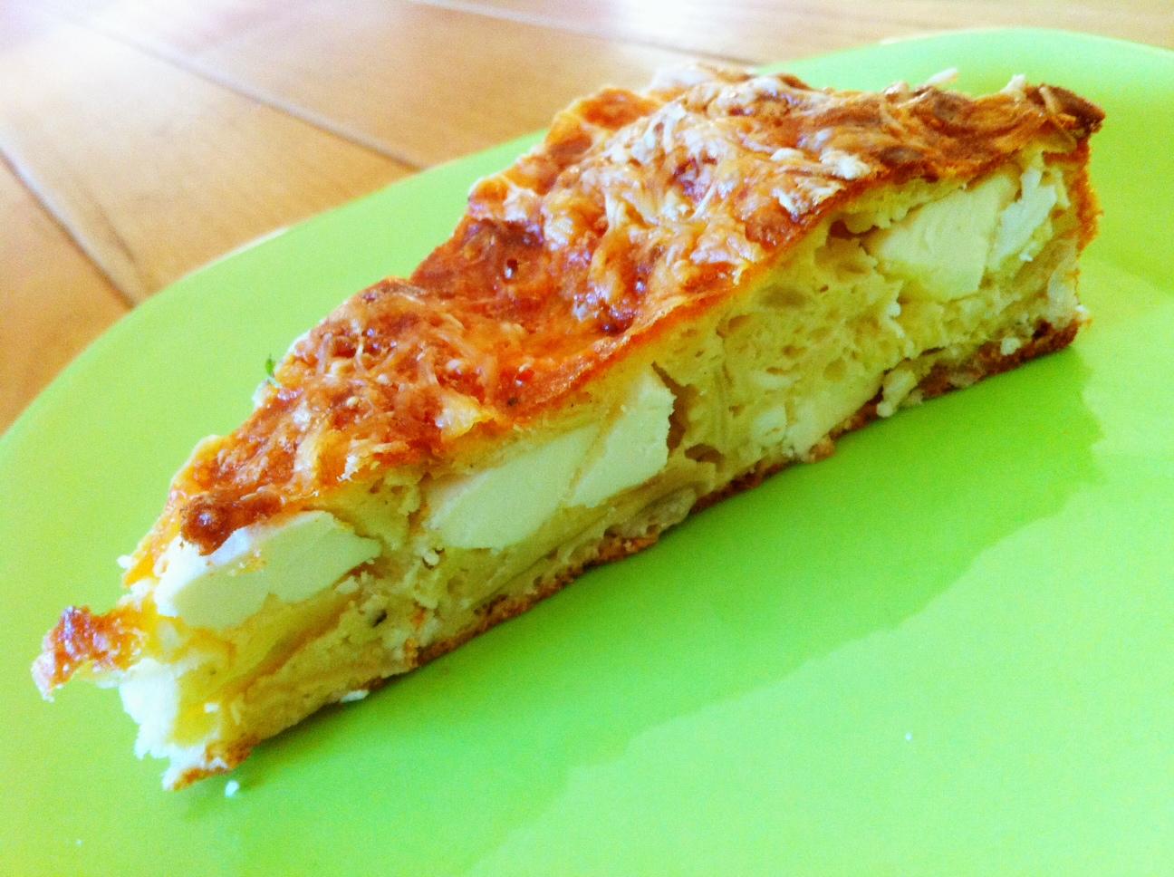 tarte grecque feta poireaux sans pâte