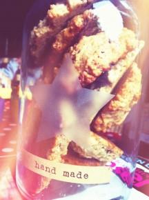 cookies aux Krisprolls et aux chocolats de Pâques