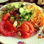 salade composée Apple Pie