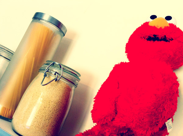 Elmo mon poto