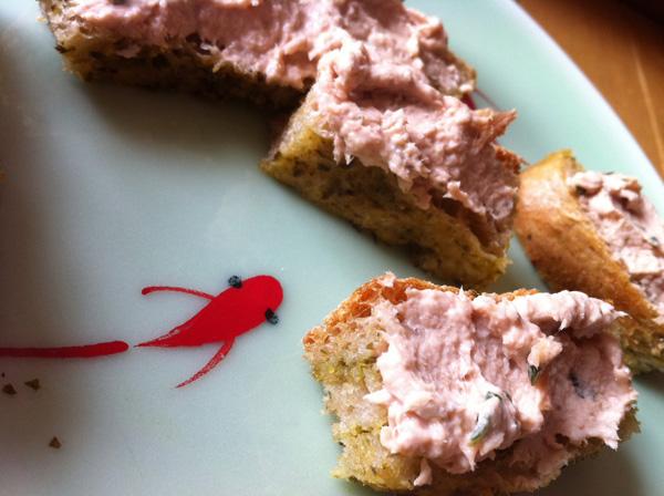 tartinade de thon aux anchois