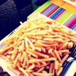 Frites et filets de perches