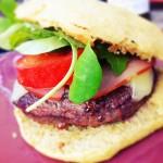 Burger au barbecue