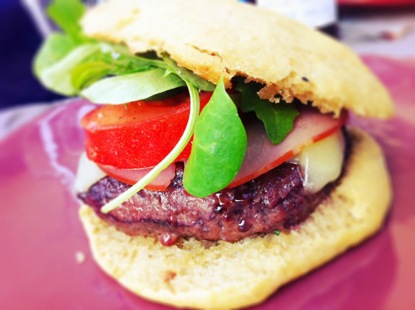 Burger au barbecue