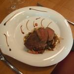 Je décore hyper bien les assiettes (beurk)