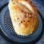 Minouchka* fait très bien les petits pains vache qui rit/sauge, piquons lui la recette !