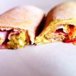 wraps maison tomate avocat bacon