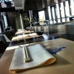 Le restaurant est agréable de jour comme de nuit, un très bel endroit (j'aime bien le côté classe mais sobre)