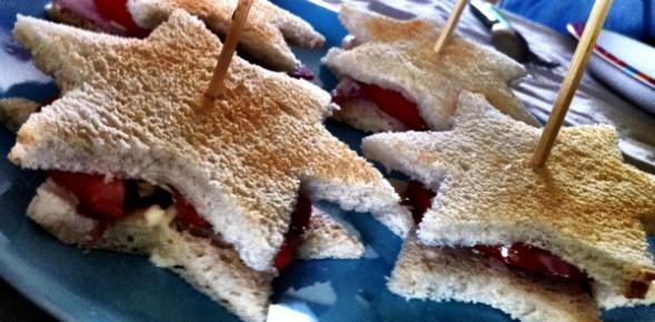 sandwich étoile BLT