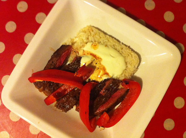 Steak à l'espagnol de Jamie Oliver