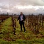 Jean-Marie Baillif dans ses vignes