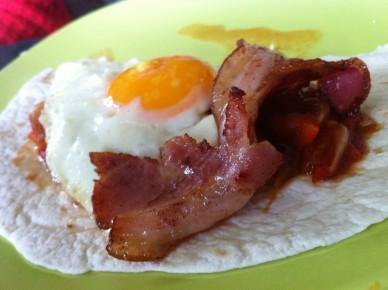Oeufs à la mexicaine - huevos rancheros