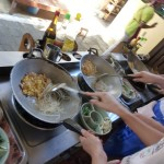 Ma lectrice préférée m'a envoyé des mails racontant ses pérégrinations culinaires en Thaïlande, merci Pascale !