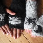 Ma soeur tricote des trucs chouettes pour les mains de mes petits glaçons