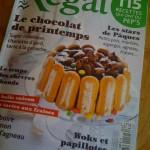 Toujours ces fichus magazines de cuisine...