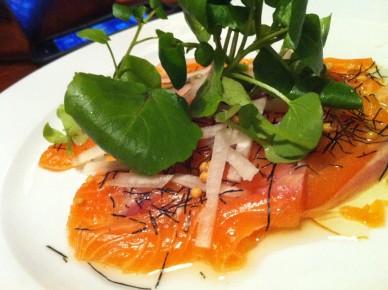 sashimi saumon l'Arsouille
