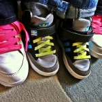 Like mother, like son : team sneakers