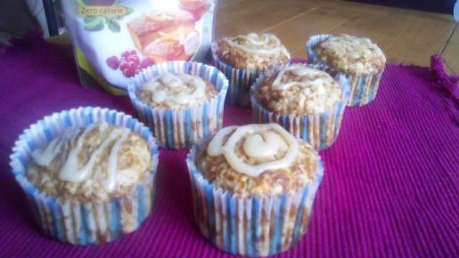muffins flocons d'avoine chocolat blanc