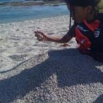 Un dernier hommage à toutes les jambes qui auront été enterrées dans le sable en 2012