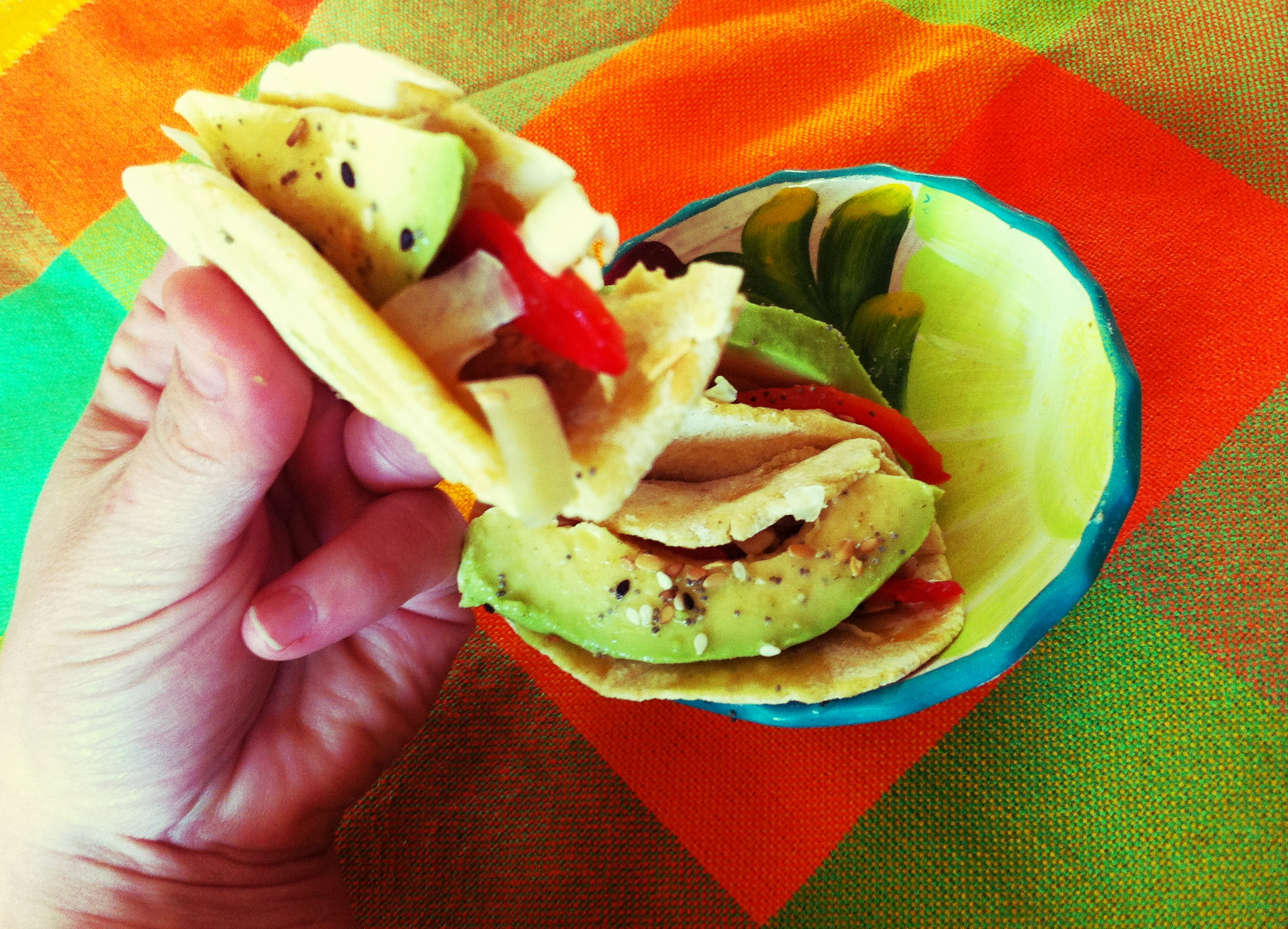 tacos de dinde confite