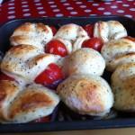 cobbler tomate et gorgonzola