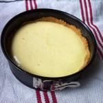 Du lait ribot jusque dans le cheesecake, et ouais ! (le dessert du déjeuner d'affaires de demain)