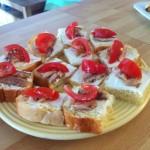 toasts sardines et brioche