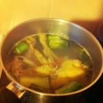 Le bouillon de poulet maison = je suis la France d'en haut de la blogosphère culinaire