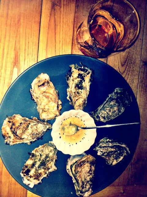 whisky et huîtres