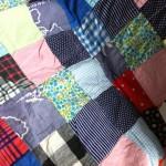 Le plus vieux patchwork du monde réalisé par belle-maman il y a 35 ans Oo
