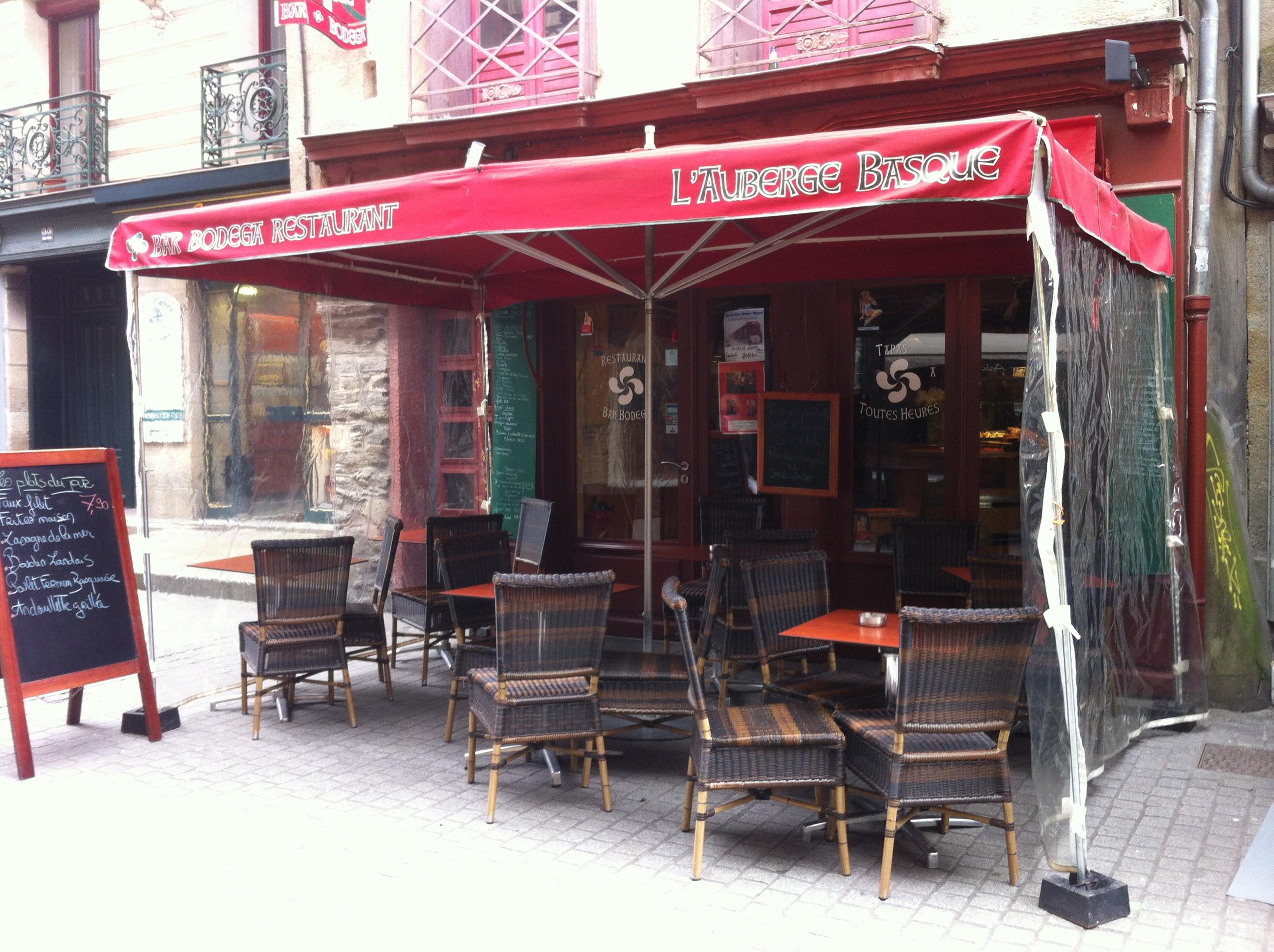 L 39 auberge basque et ses frites maison dansmacuizine for Maison du monde rennes