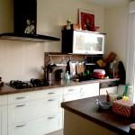 Chouïa de la cuisine de la nouvelle maison... (Chouette mais un peu chiche en rangements )