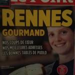 Le meilleur cheesecake de Rennes en couverture d'un mag ? Cool (les suppléments Rennes me font vraiment acheter n'importe quoi, je sais)
