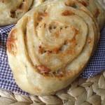 Vous voyez les cinnamon rolls ? Bon ben, avec du gorgonzola c'est bien aussi...