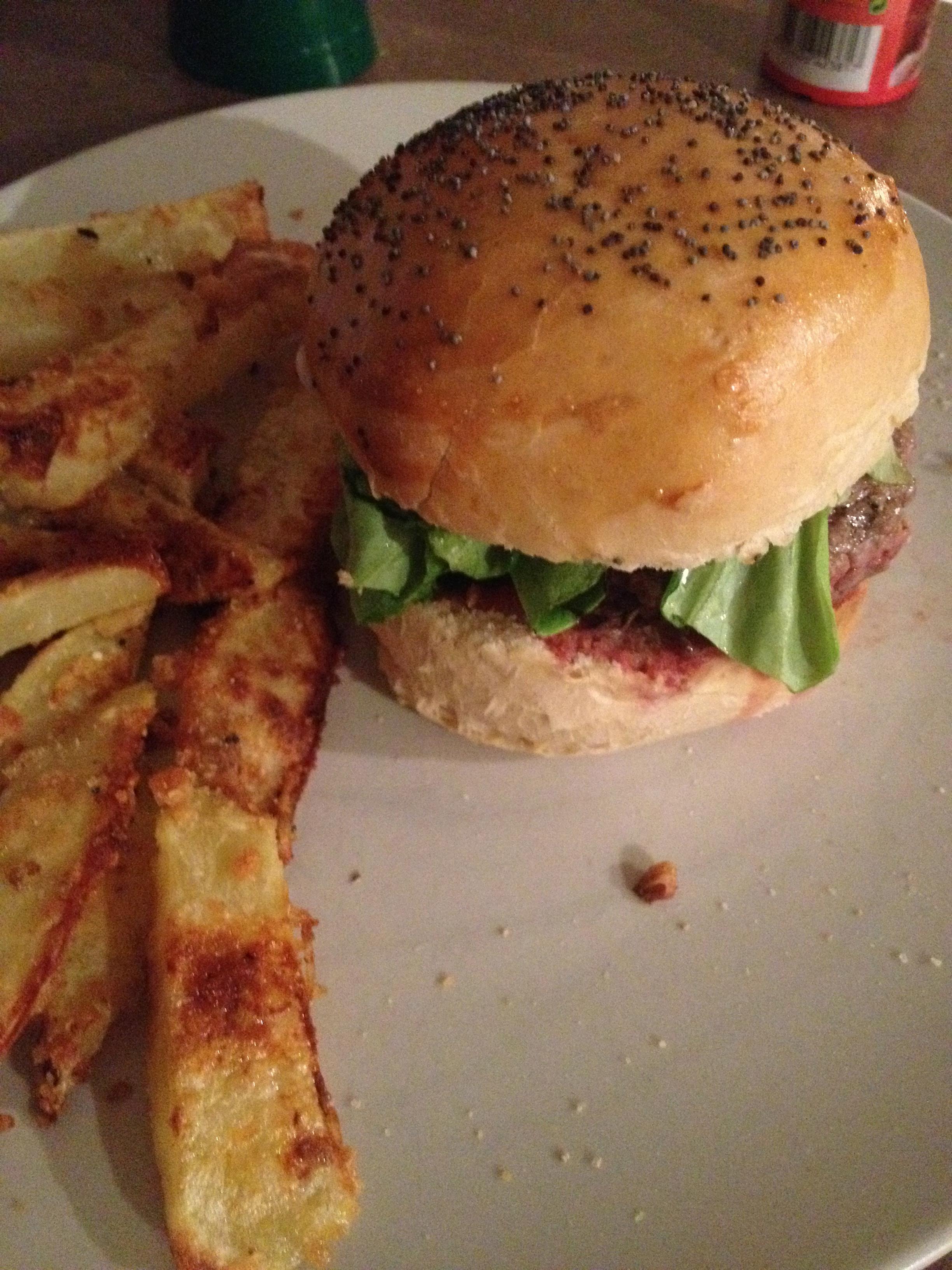 burger et frites maison