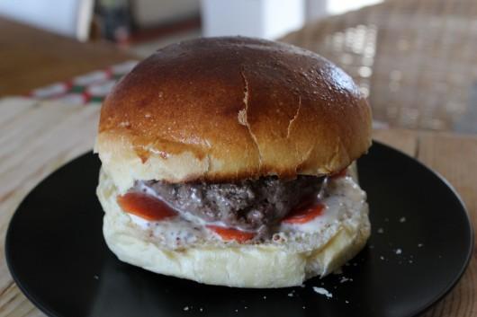 burger du marché des Lices à Rennes