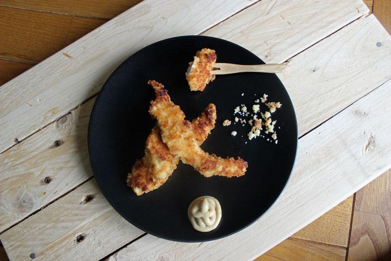 recette poulet pané tranché Ker Cadelac