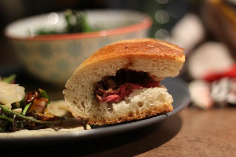 sandwich au boeuf portugais