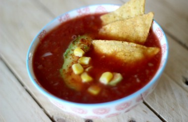 soupe façon enchilada