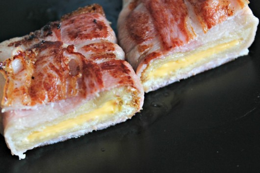 grilled cheese bacon