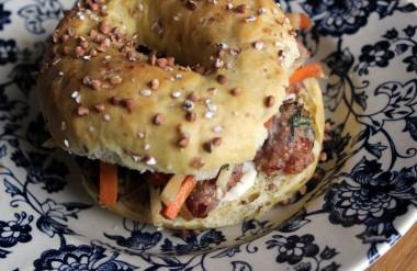 La recette du bagel bahn-mi
