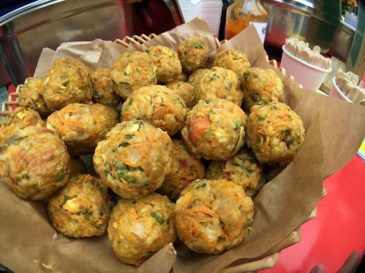 Veggie balls par Petite Nature au Marché à Mange